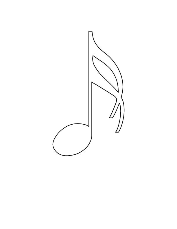 14 Pics of Music Coloring Page Say That - Musical Notes Coloring ...
