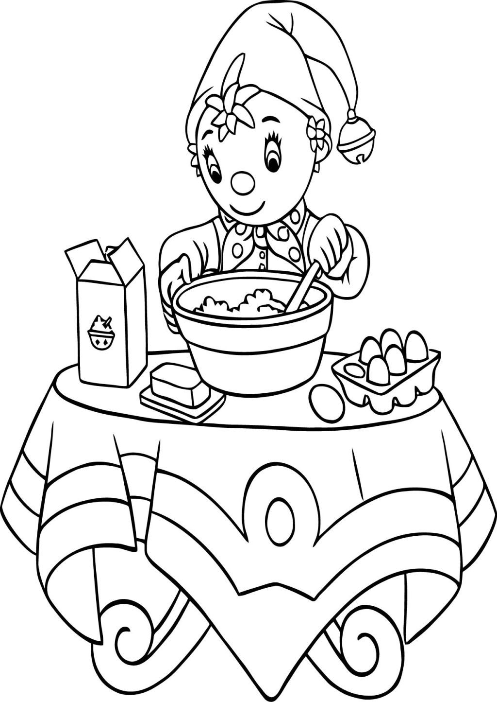 Noddy Coloring Pages » Coloring Pages Kids - Coloring Home