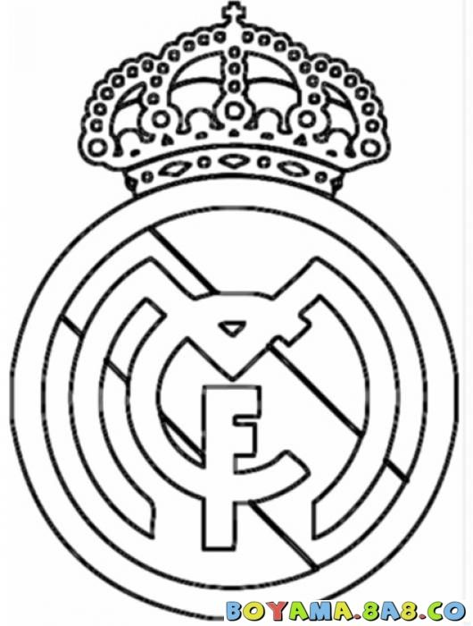 Volvo Logo 2017 Png >> Colouring Pages, Real Madrid And Madrid - Coloring Home