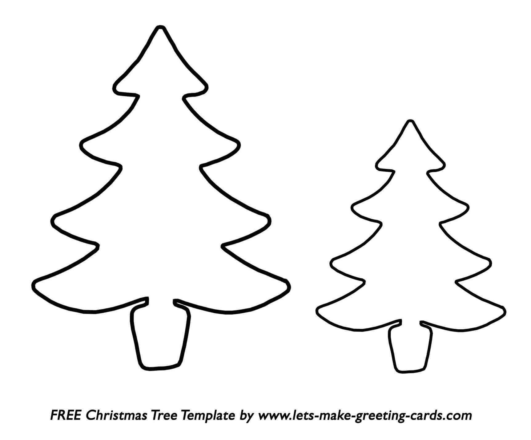 Christmas tree drawing outline - Christmas Tree Drawing Outline Ngorong Club