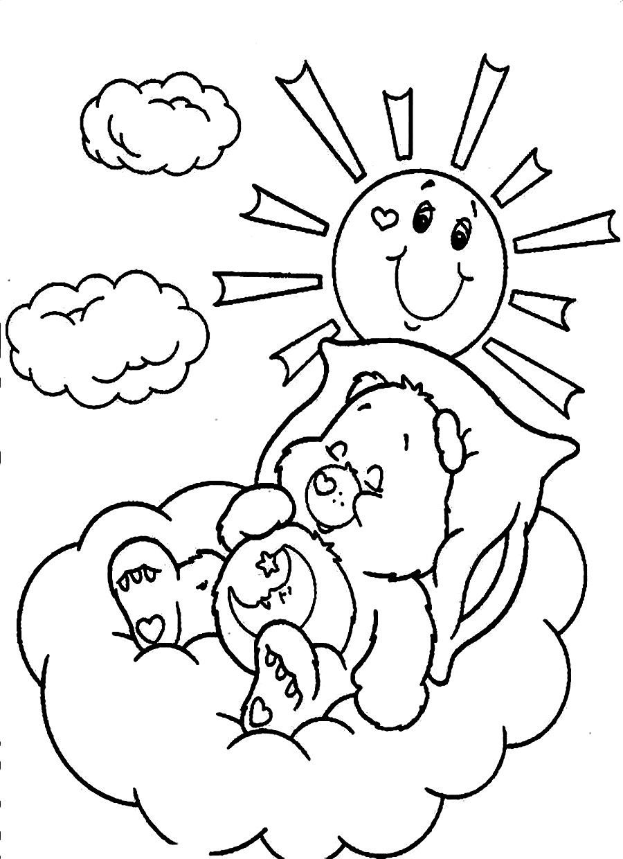 bedtime coloring pages - bedtime coloring pages coloring home