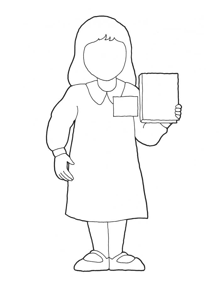 missionaries coloring pages - photo#12