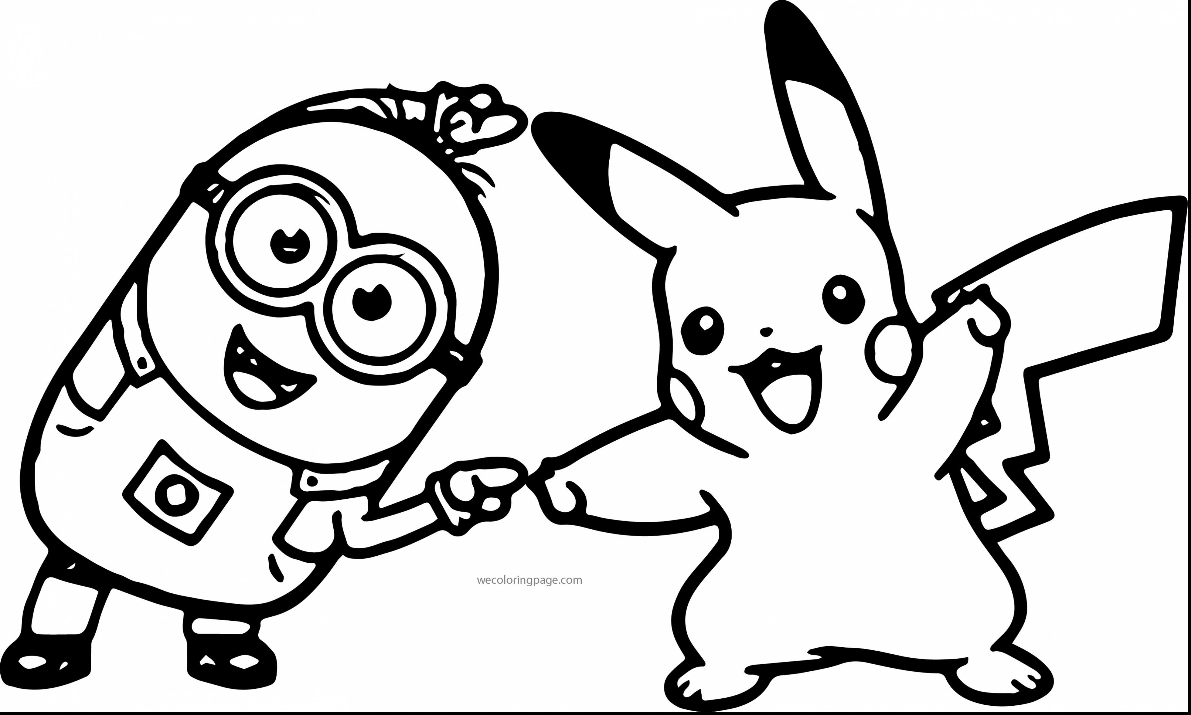 Pikachu Coloring Pages at GetDrawings.com | Free for ...