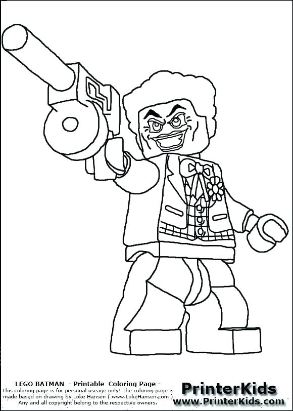 The best free Joker coloring page images. Download from 613 ...