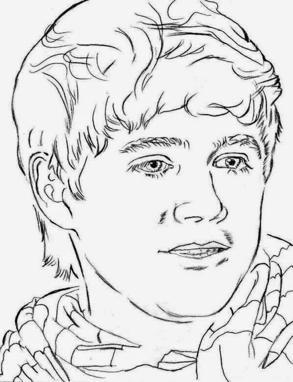 One Direction Printable Coloring Pages - Coloring Home