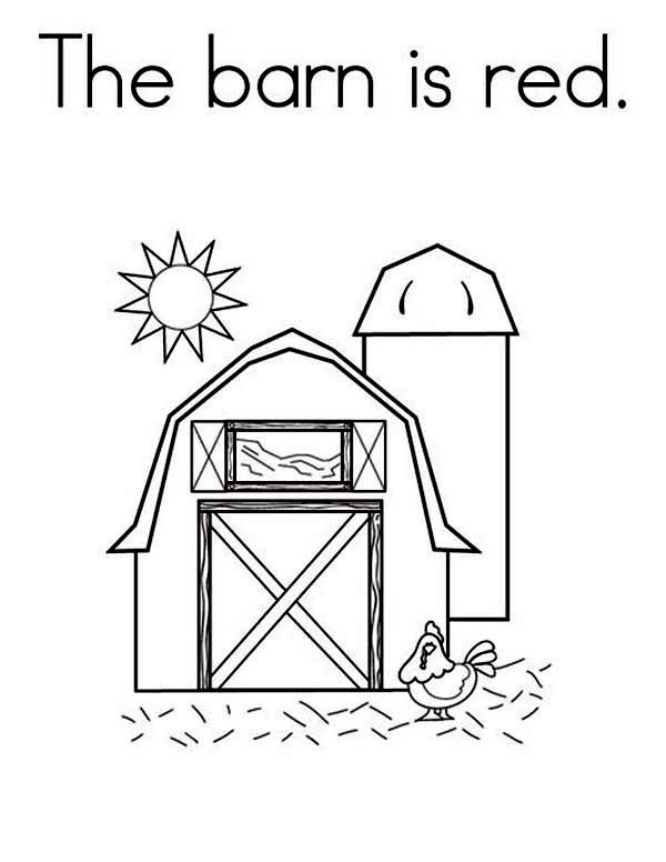 coloring pages : The Barn Is Red Coloring Page Color Blue Worksheets For  Preschool Kindergarten Free Splendi Color Red Worksheets For Preschool  Photo Ideas ~ awarofloves