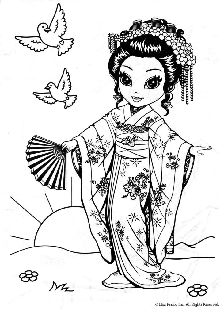 coloring pages of lisa - photo#33