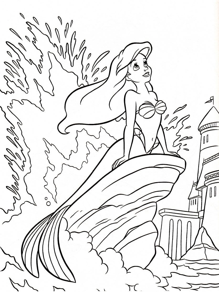 Coloring Pages Disneyland - Coloring Home