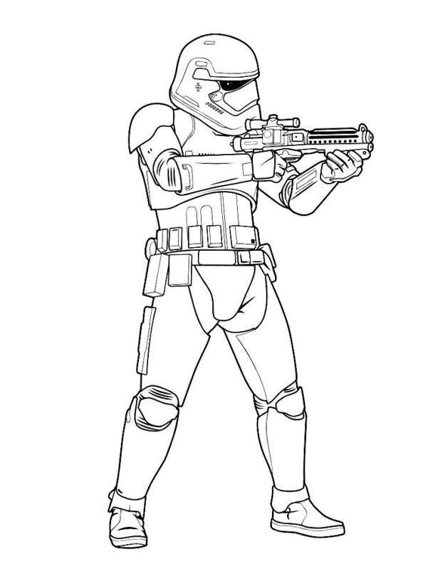 Kids-n-fun.com | 21 coloring pages of Star Wars The force awakens