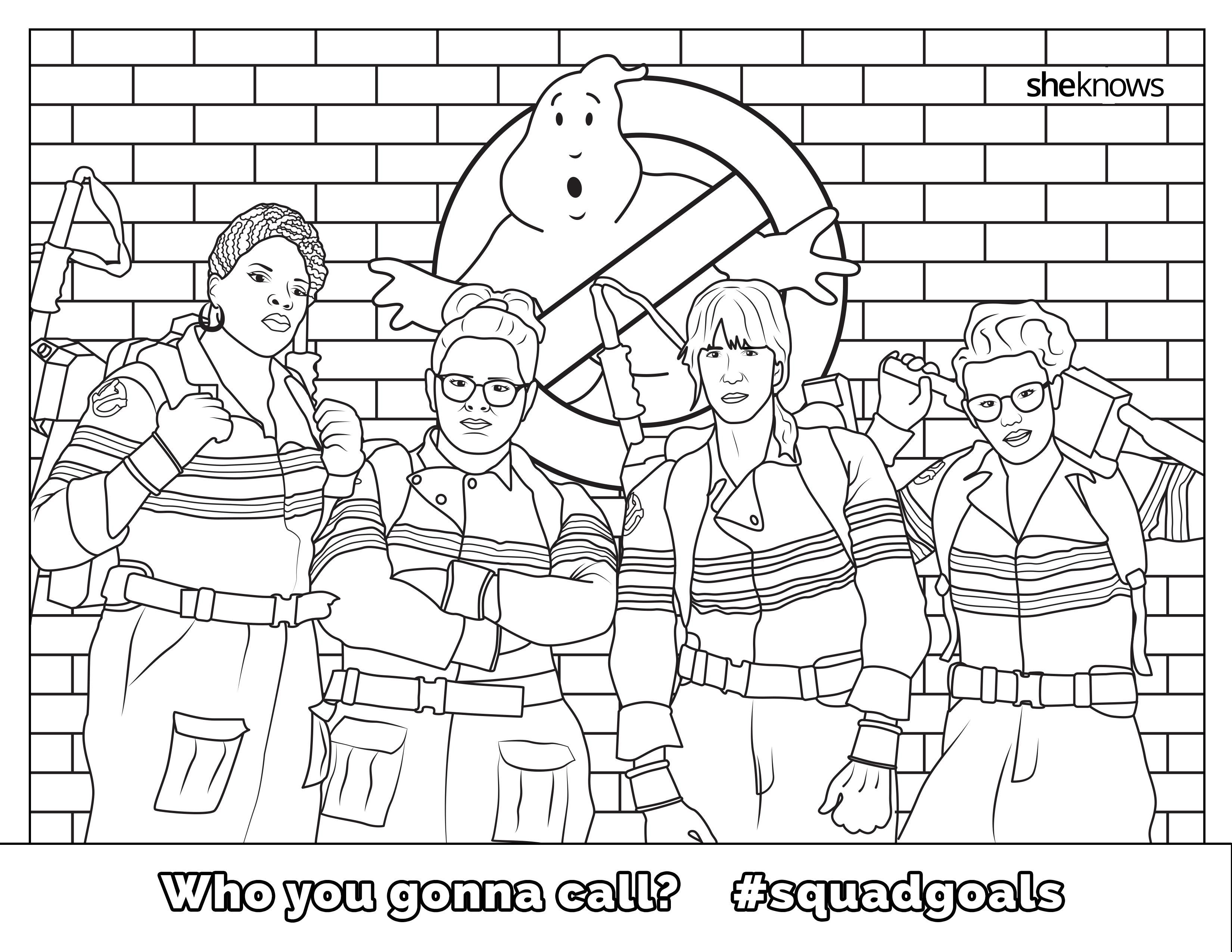 The #SquadGoals Coloring Book Cheers Girl Power | Bustle