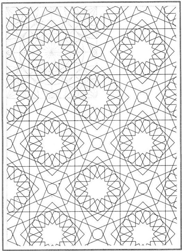 Mosaic Coloring Pages For Kids Coloring Home Mosaic Coloring Pages Printable
