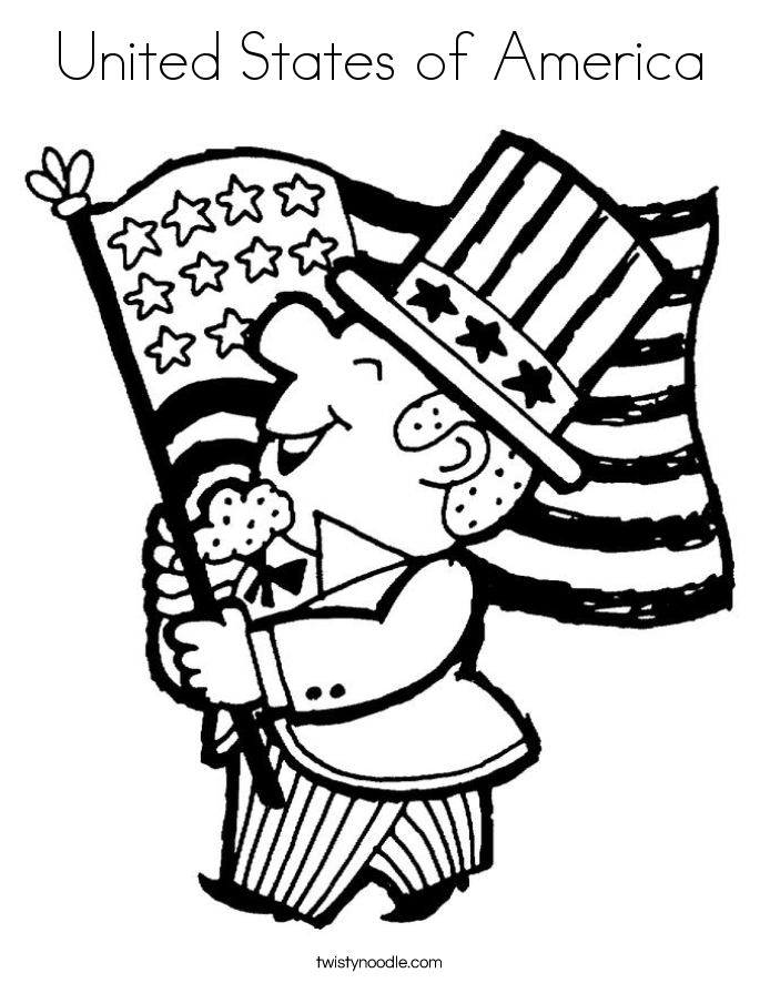 Constitution Day Coloring Page - Coloring Home