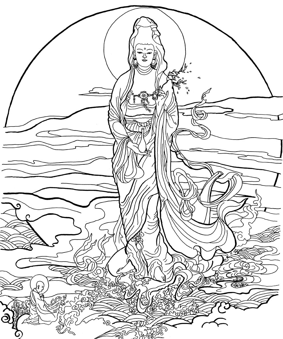 coloring pages about zen - photo#22