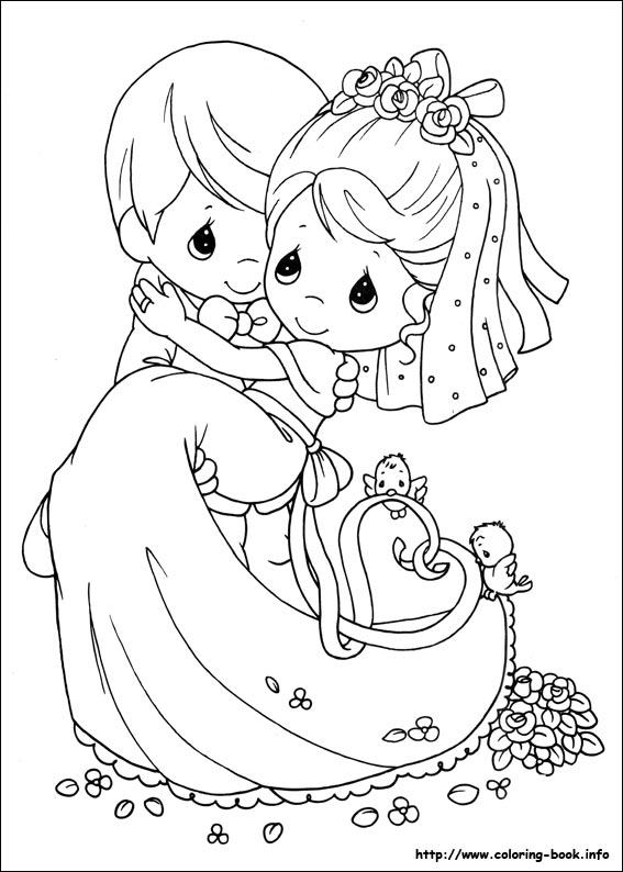 Bridal Shower Coloring Pages
