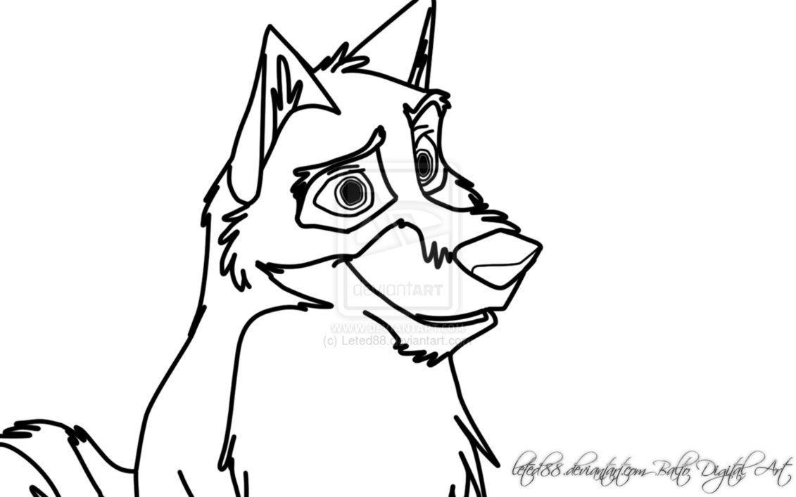 balto coloring pages online - photo#42