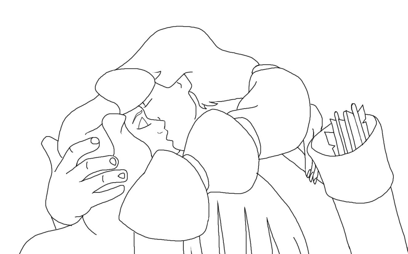 The Swan Princess Coloring Page - Coloring Home