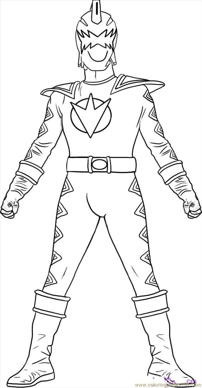 Megaforce Power Rangers Coloring Pages Printable ...