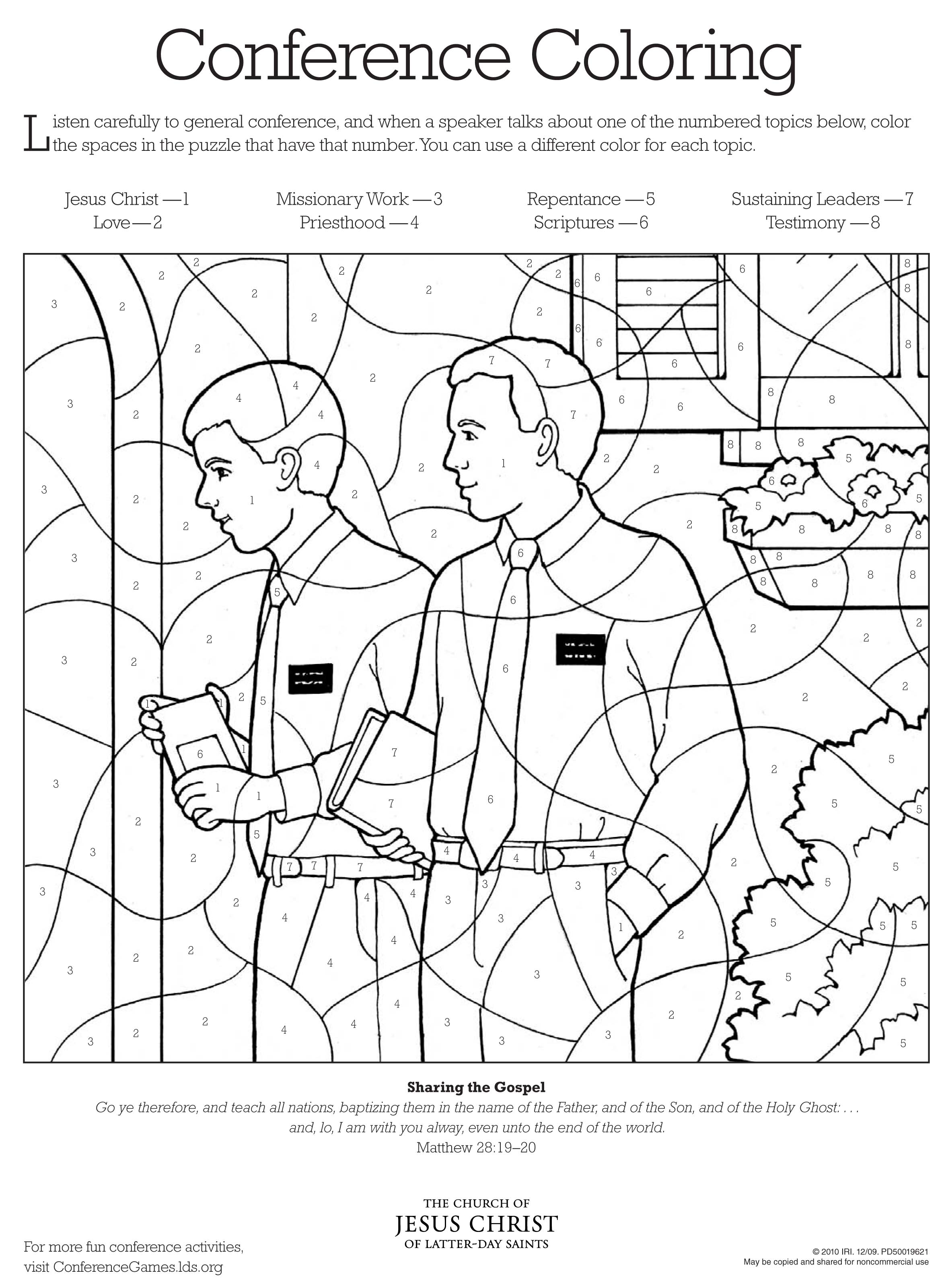 Free coloring pages king josiah - Coloring Pages Lds Lesson Ideas