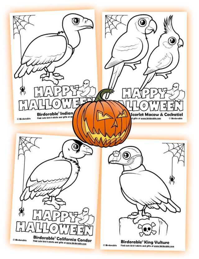 Coloring Pages (page 5) < Categories - Birdorable Blog