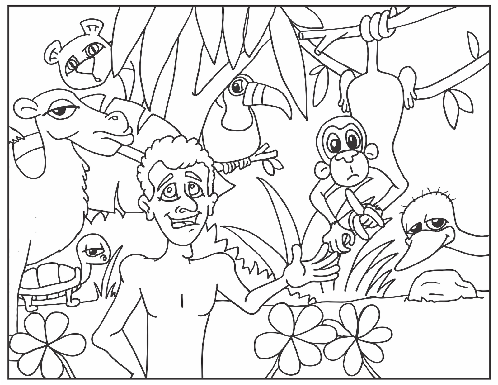 Outdoor - Coloring Pages For Kids And For Adults - Coloring Home
