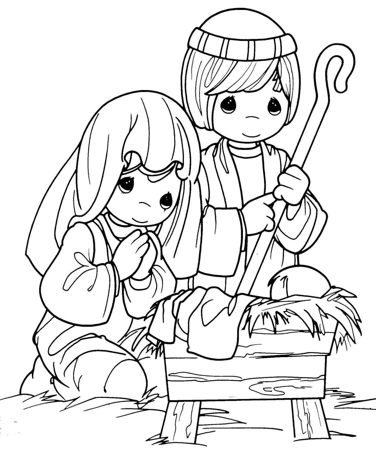 Coloring Pages : Jesus Coloring Pages Pdf Innovative Nativity ... | 1600x1321