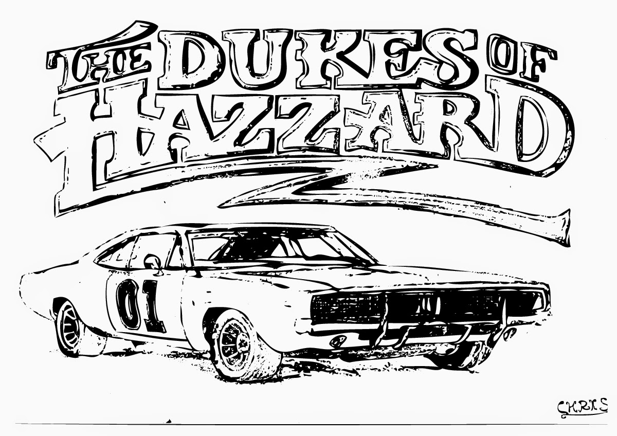 Uncategorized Dukes Of Hazzard Coloring Pages dukes of hazzard coloring page home page