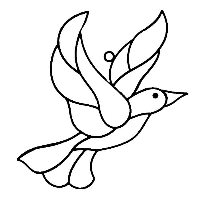 Bird Cut Out Template - Coloring Home