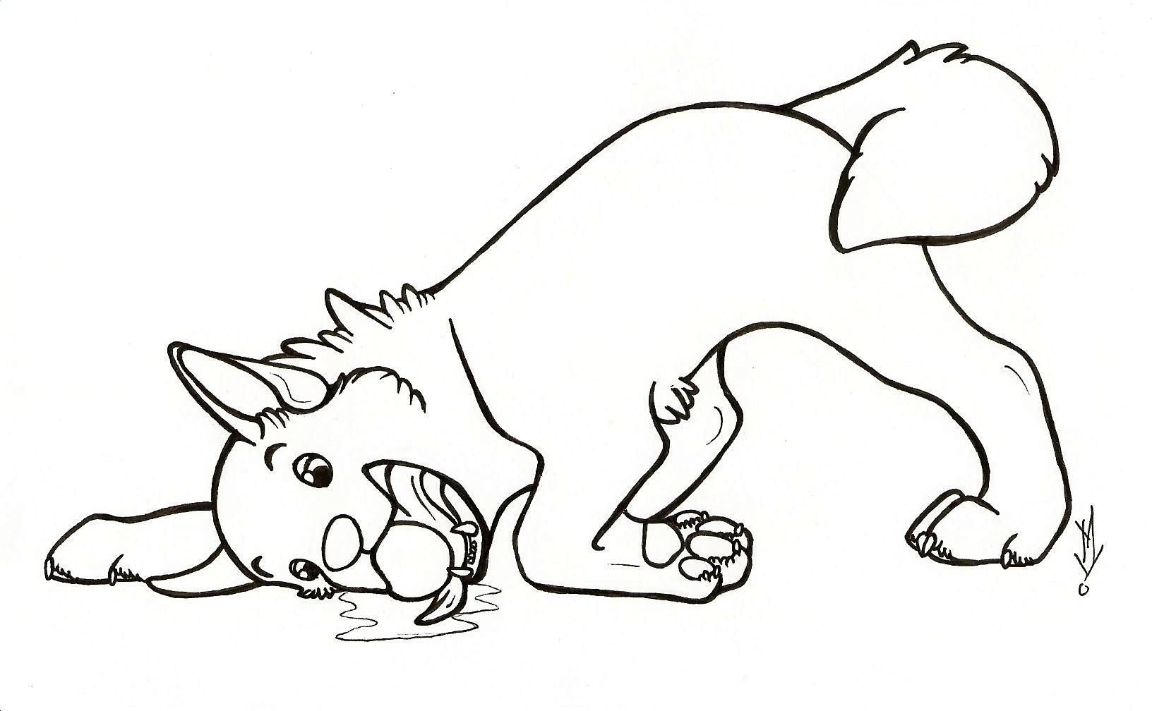 Cute Cartoon Animal Coloring Pages Dog Soloring Pages For All Ages Coloring Home