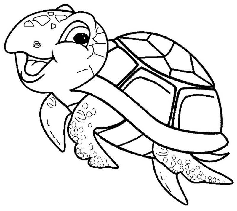 mommy turtle coloring pages - photo#39