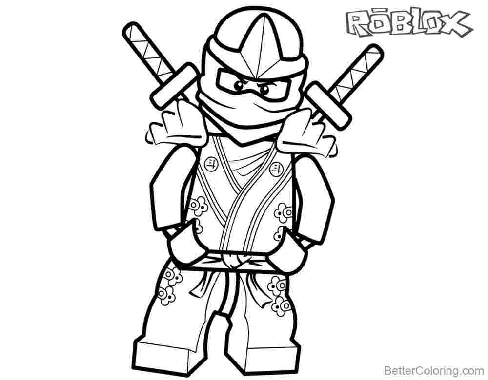 Roblox Coloring Pages - Coloring Home