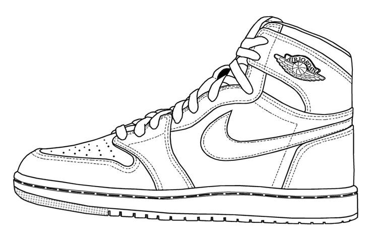 coloring pages for shoes - Google Search | Sneakers sketch, Shoe ...