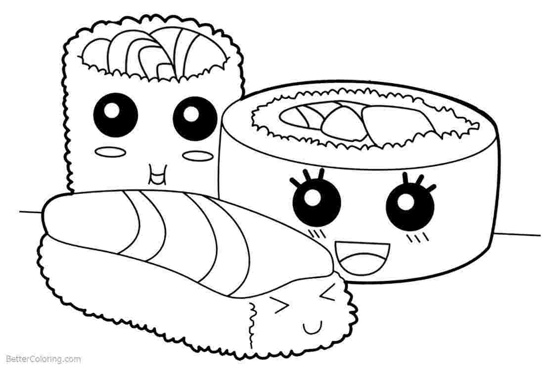 - Sushi Coloring Pages - Coloring Home