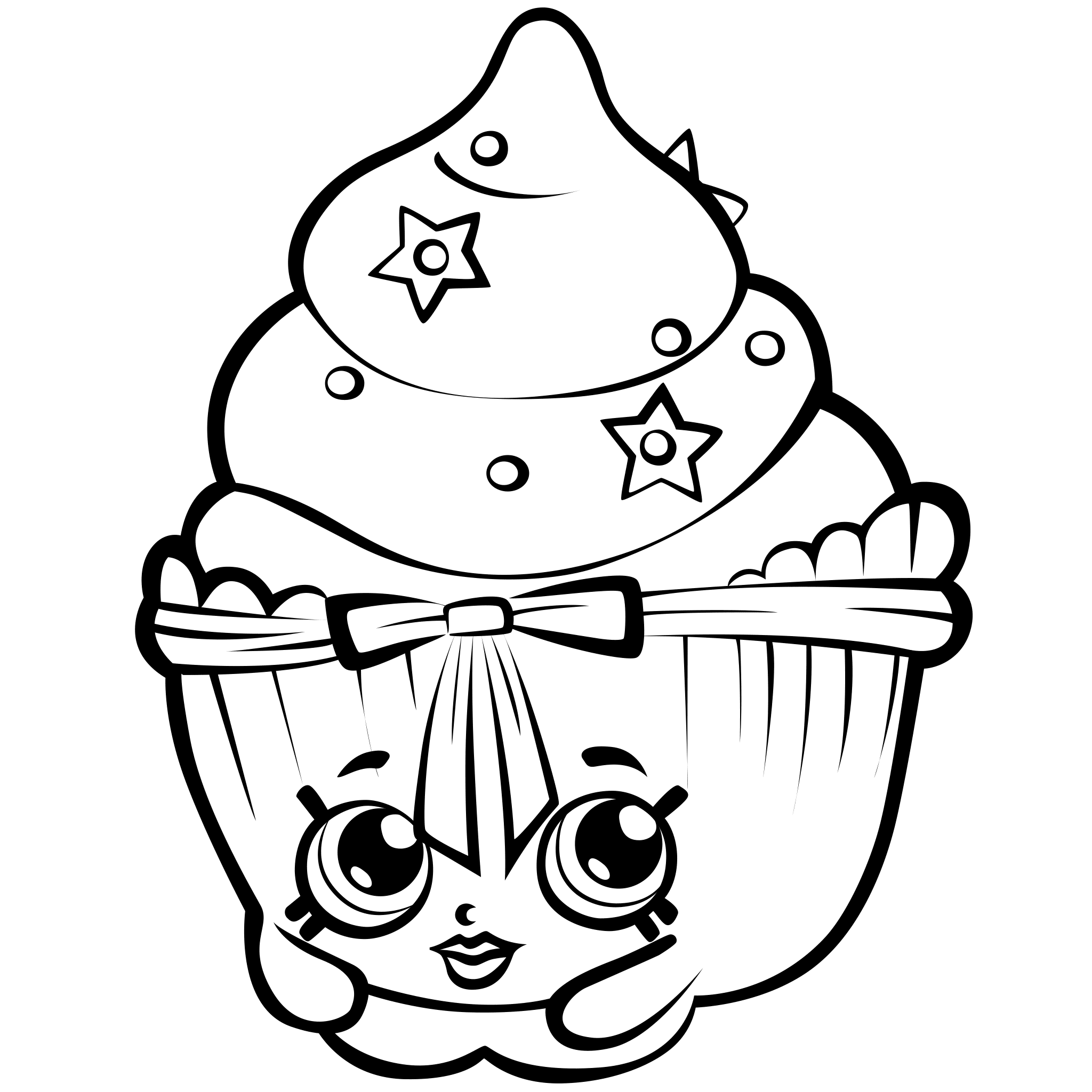 Shopkins Coloring Pages AZ Coloring