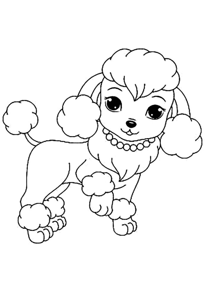Dog Free To Color For Children Cute Female Dogs Kids Coloring Math Tiles  Hidden Dog Coloring Pages For Kids Coloring Pages addition and subtraction  worksheets word problems math tiles 1 more 1