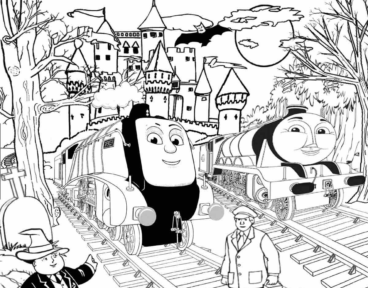 Thomas The Train Coloring Thomas The Train Coloring Pages