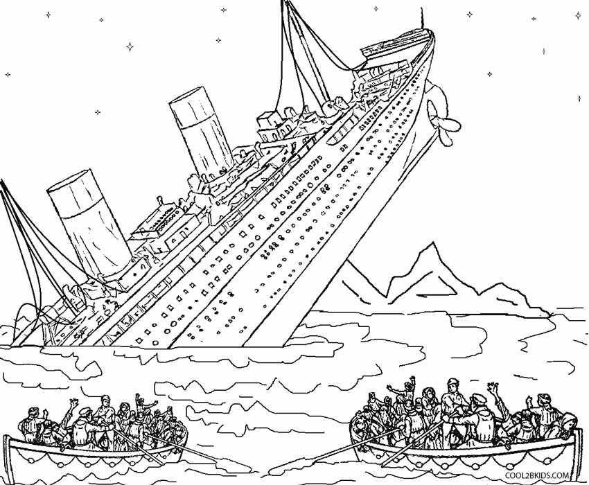 coloring pages of a sunken ship coloring home Pirates of the Caribbean Coloring  Black Pearl Coloring Pages