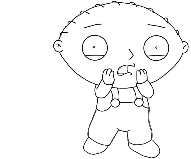 coloring pages family guy stewie | Stewie Family Guy Coloring Pages - Coloring Home