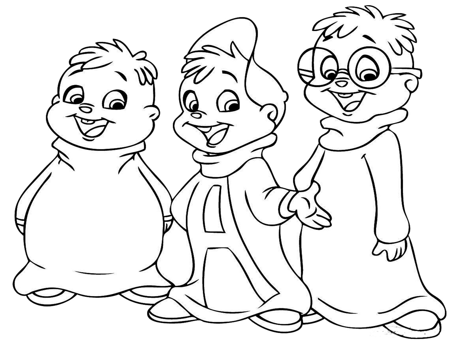 Chipmunk Coloring Pages (19 Pictures) - Colorine.net   17379 - Coloring Home