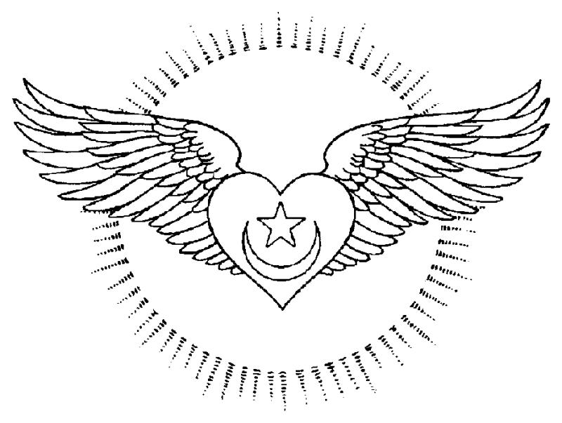 free heart with wing coloring pages | Coloring Pages Of Hearts With Wings - Coloring Home