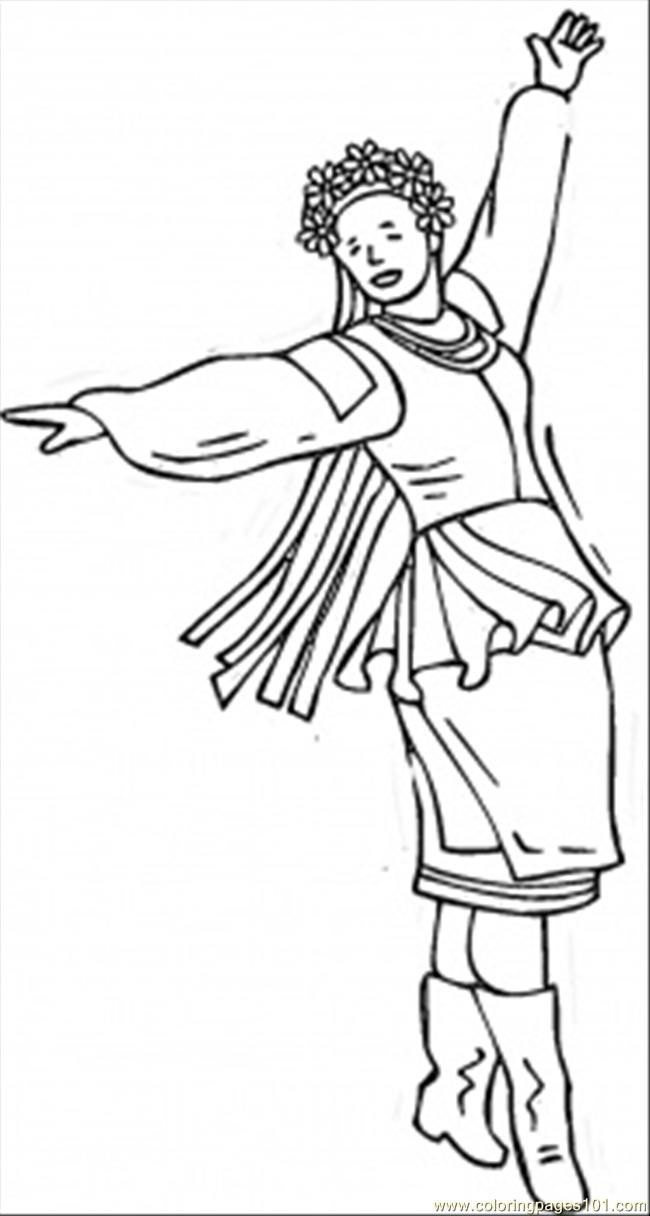 coloring pages flamenco dancers - photo#17