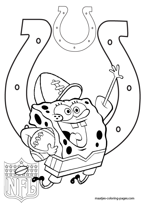 printable indianapolis colts coloring pages - photo#8
