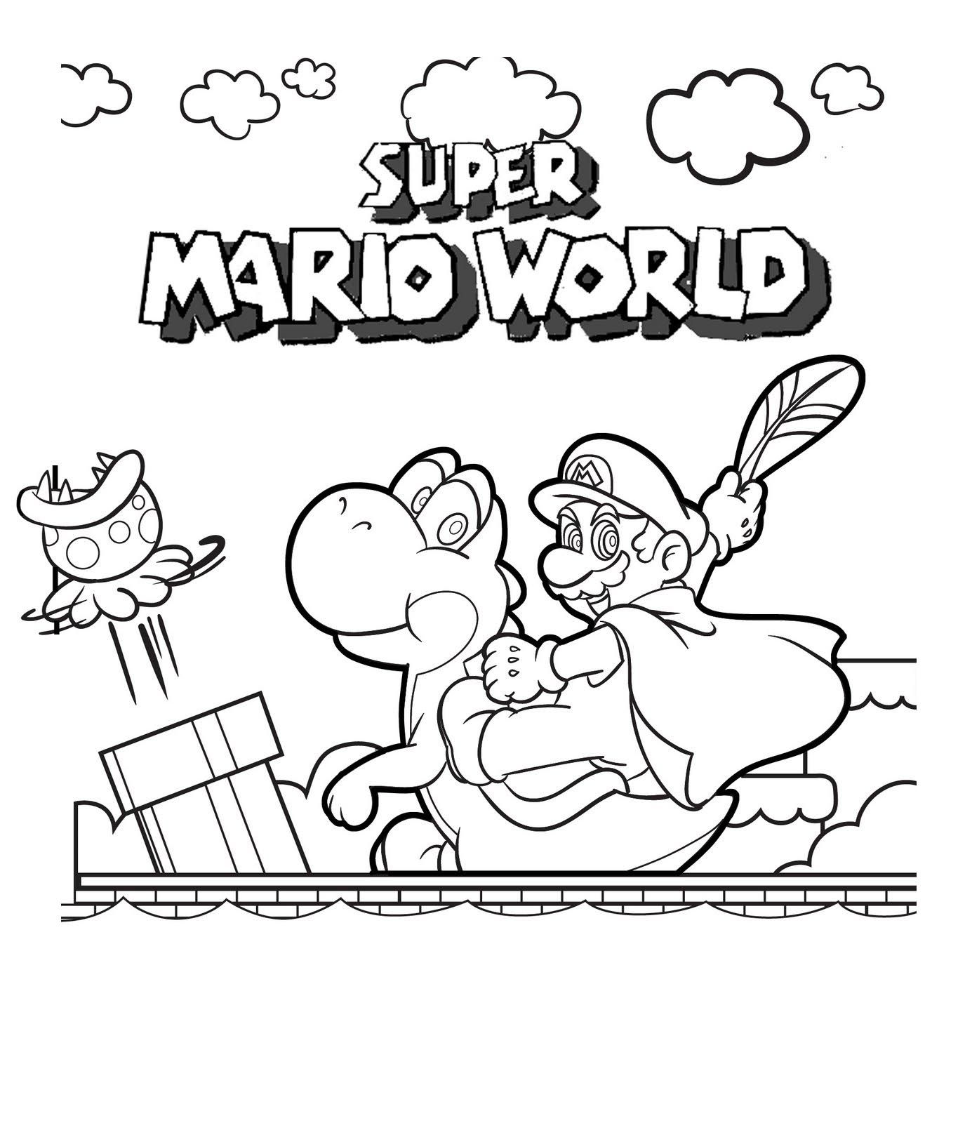 Nintendo Land Coloring Pages - Coloring Home