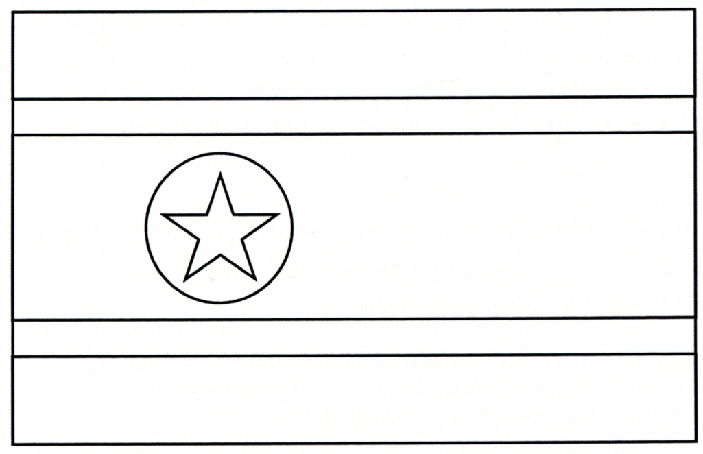 africa flag coloring pages - photo#32