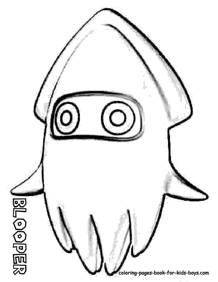 mario bad guy coloring pages - photo#21