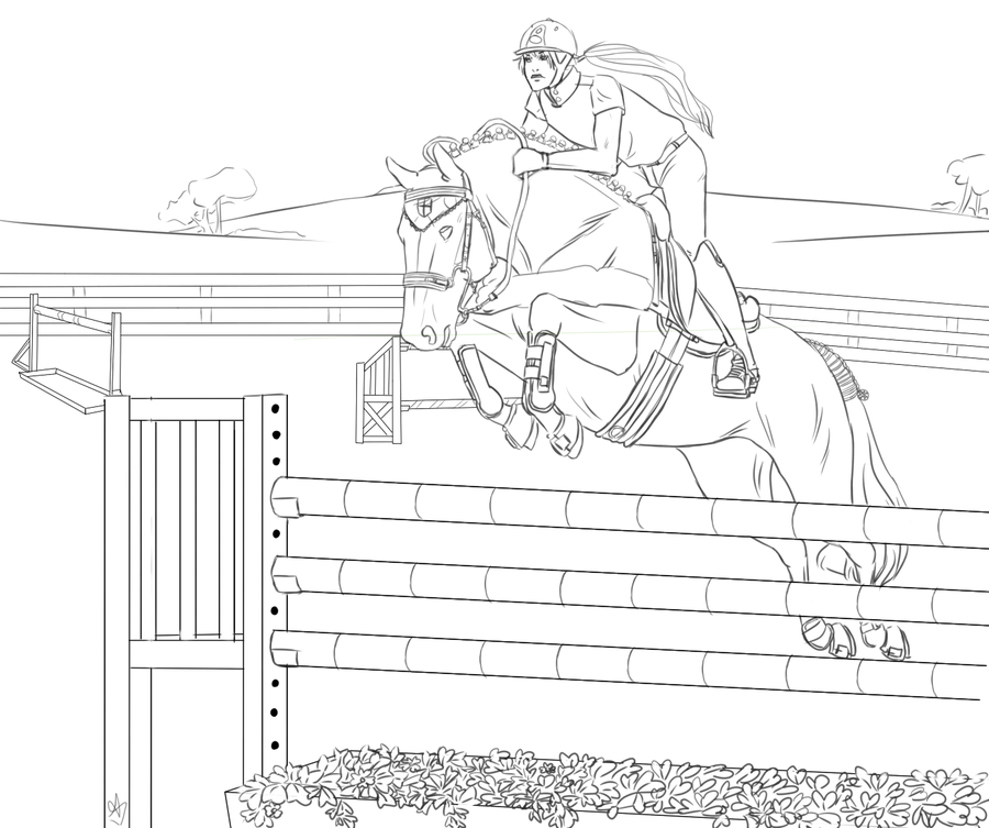 Printable Coloring Pages Horse