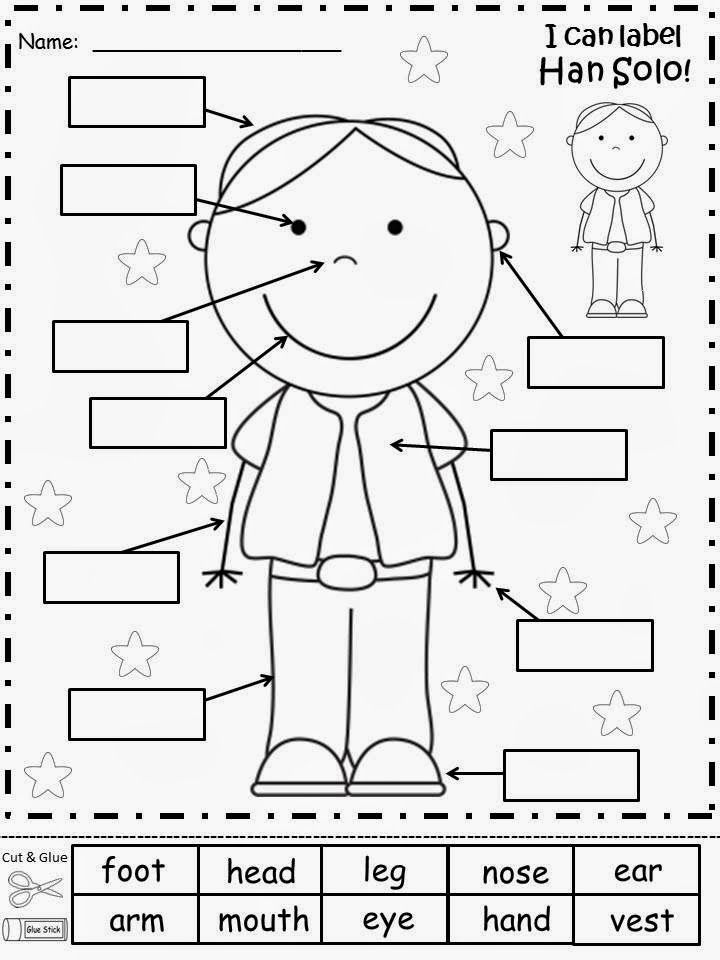 five sense coloring pages for kids