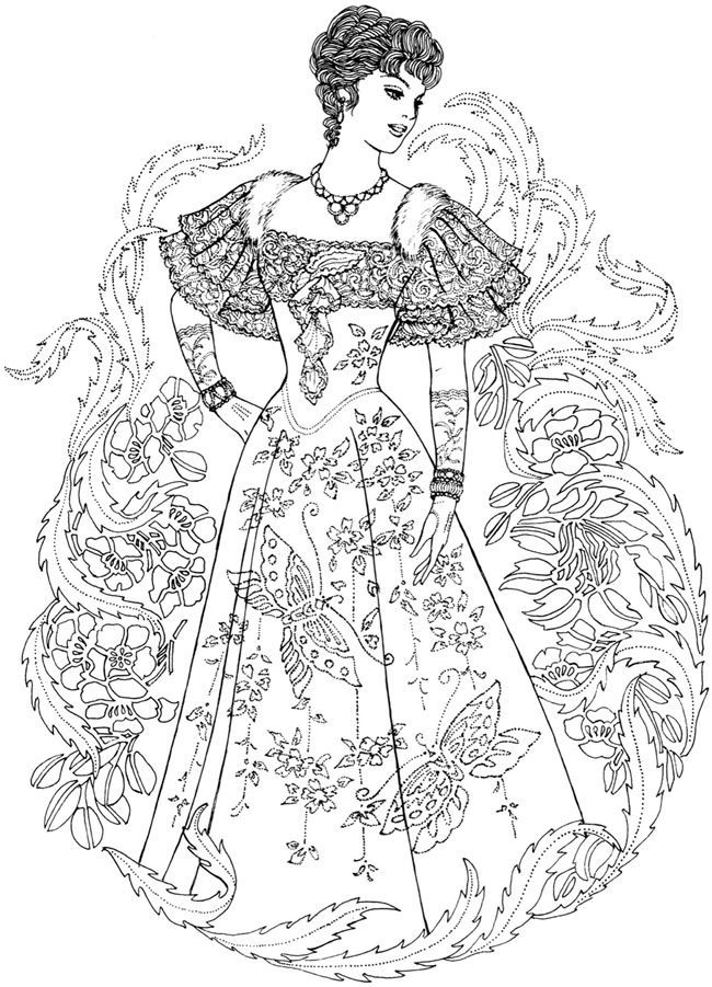 11 Pics Of Dover Publications Steampunk Coloring Page