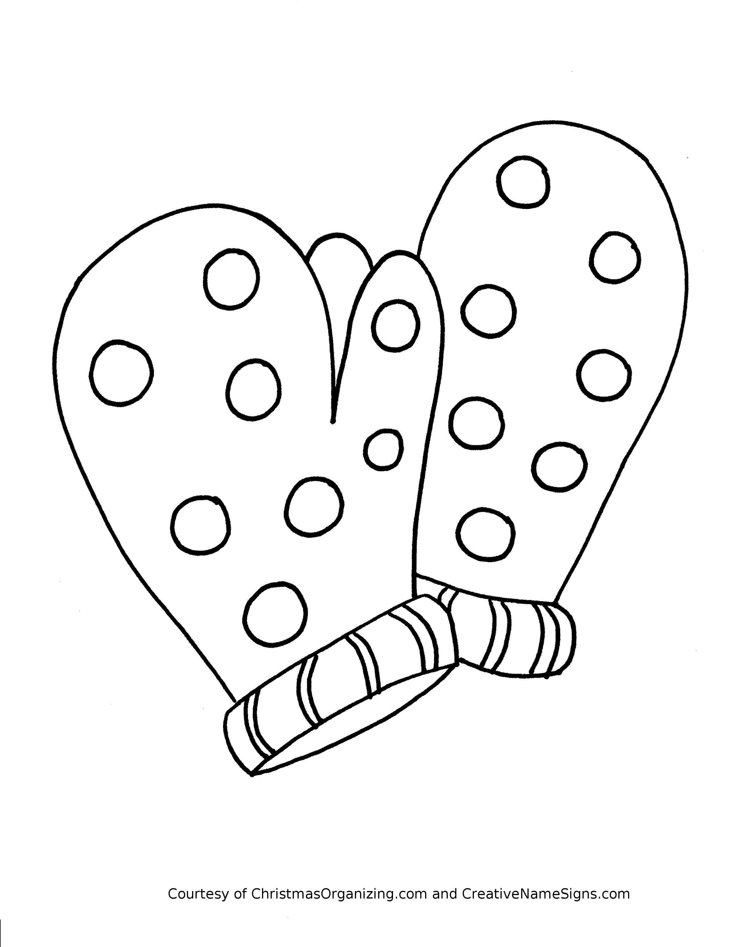 Winter Clothes Coloring Pages Crafts And Worksheets For