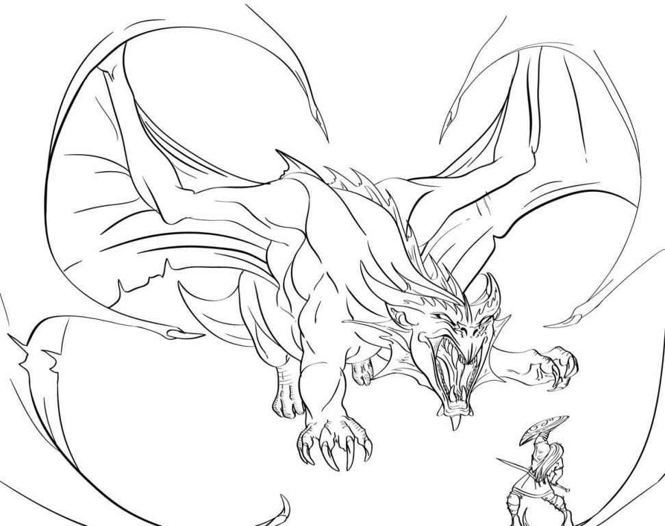 Free Cool Dragon Coloring Pages - Toyolaenergy.com ...