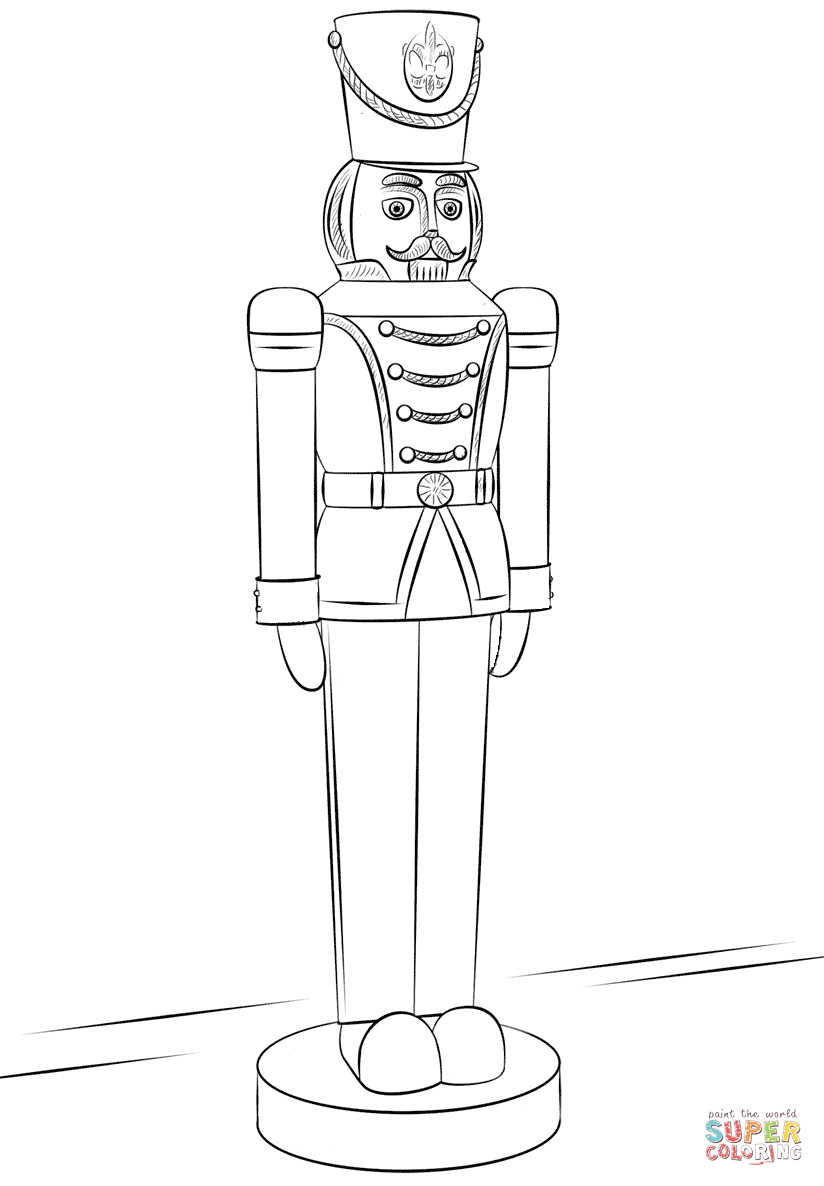 Printable Coloring Pages Of Toy Soldiers   Coloring Home